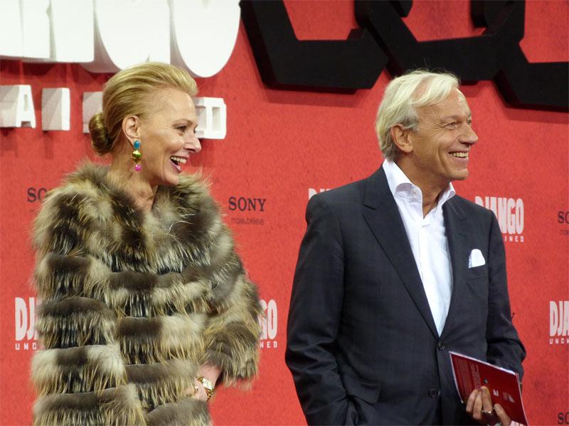 """Petra van Bremen & Jo Groebel - Deutschlandpremiere """"Django Unchained"""" in Berlin"""