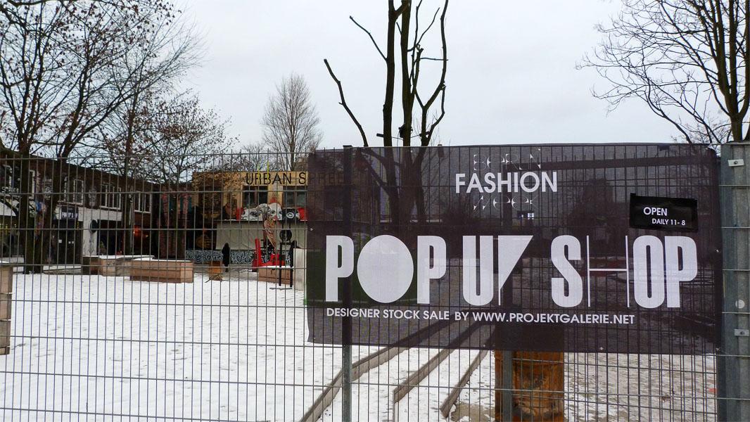 Pop-Up Shop Berlin - Eingang