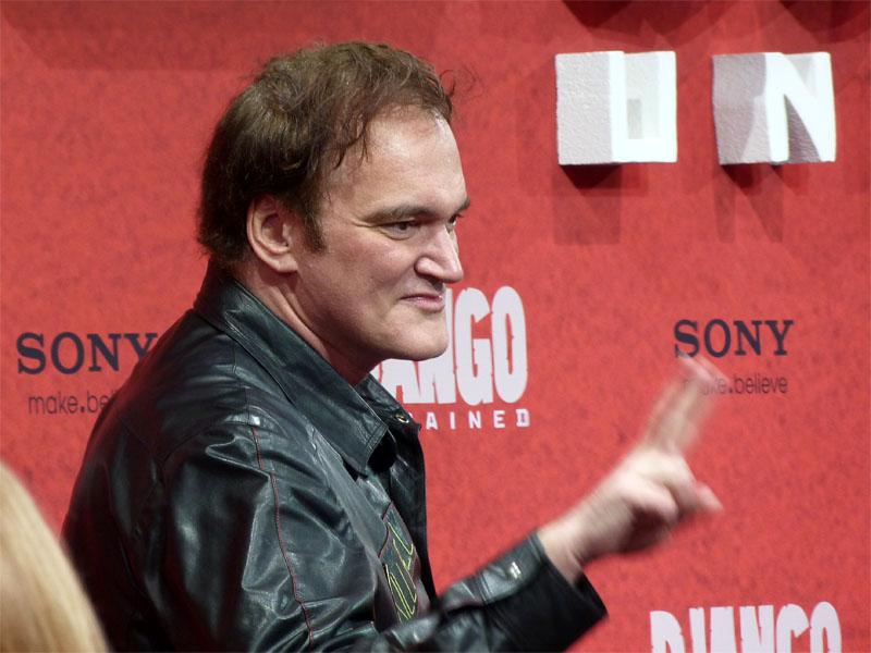 """Kultregisseur Quentin Tarantino präsentiert """"Django Unchained"""" in Berlin"""