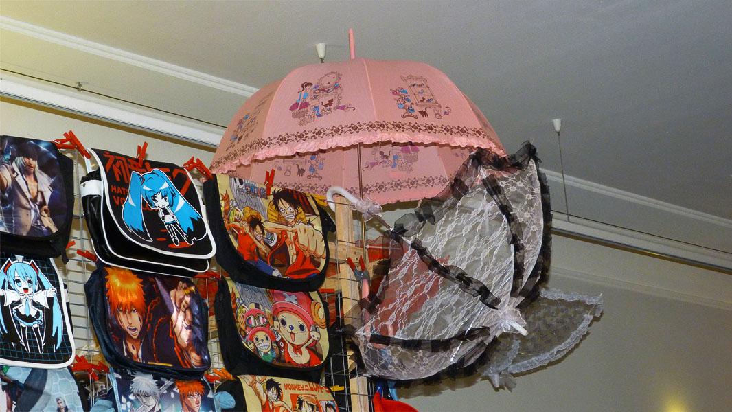 Schirme & Taschen auf dem Japan Festival Berlin