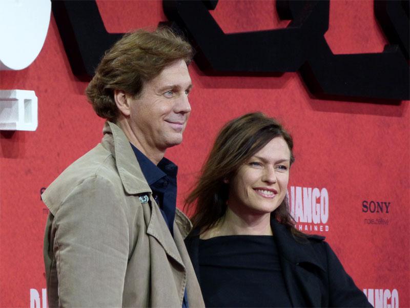 """Thomas Heinze & Nina Kronjäger - Premiere von """"Django Unchained"""" im Sony Center"""