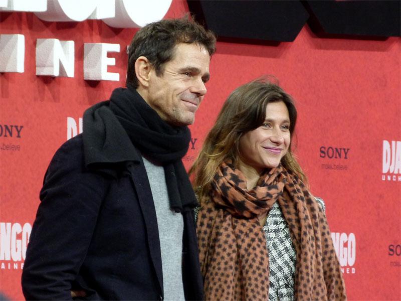 """Tom Tykwer & Marie Steinmann - Deutschlandpremiere """"Django Unchained"""" in Berlin"""