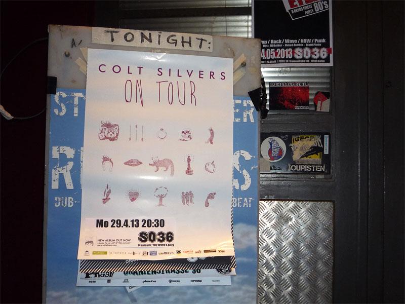 Colt Silvers - Konzert im SO36