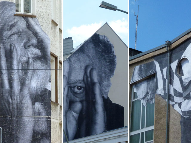 "JR ""The Wrinkles of the City"" Berlin"