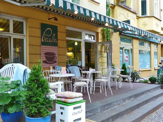 """""""Café Paula"""" in der Florastraße in Pankow"""