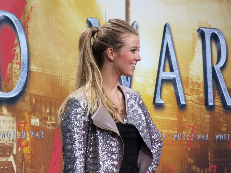 "Nina Eichinger - ""World War Z""-Premiere im Sony-Center"