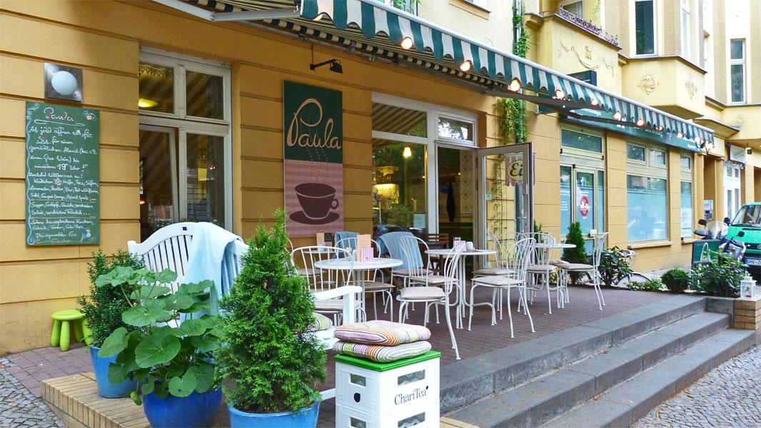 Café Paula in der Florastraße