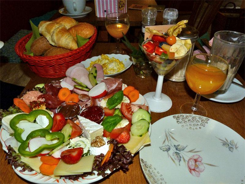 Frühstück im Café Paula