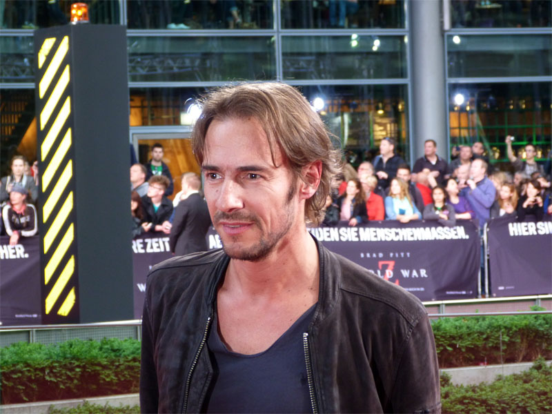 "Thomas Hayo auf der Premiere von ""World War Z"" in Berlin"
