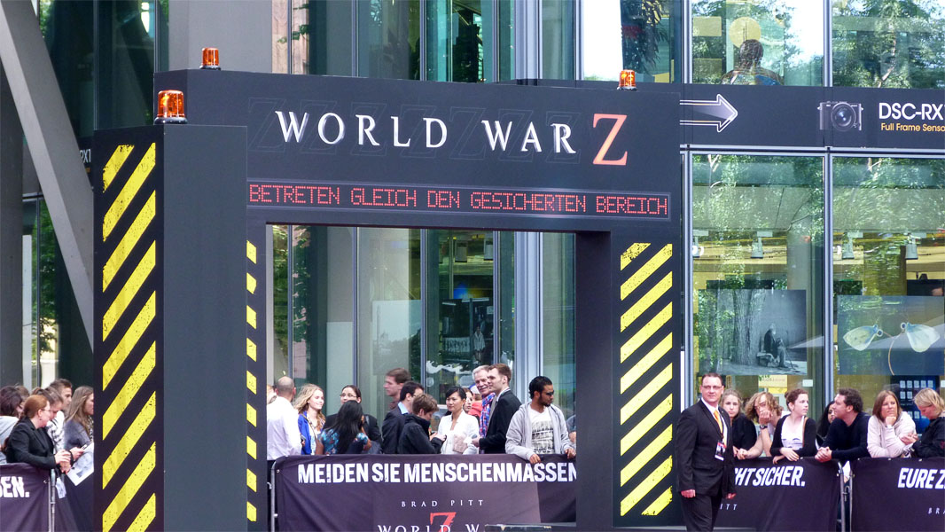 """World War Z""-Premiere in Berlin - Roter Teppich"