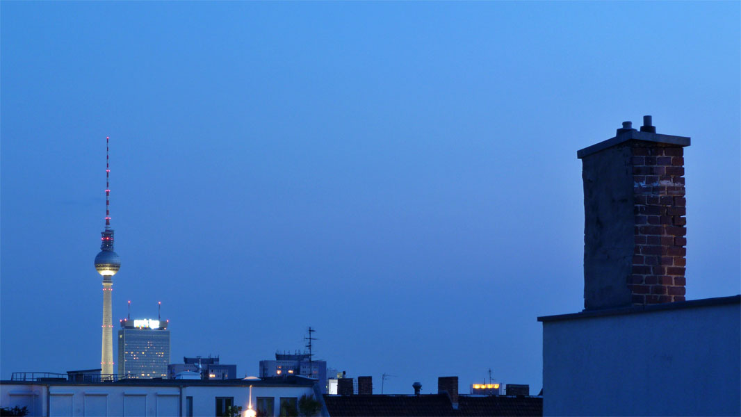 Blaue Stunde - Berliner Fernsehturm