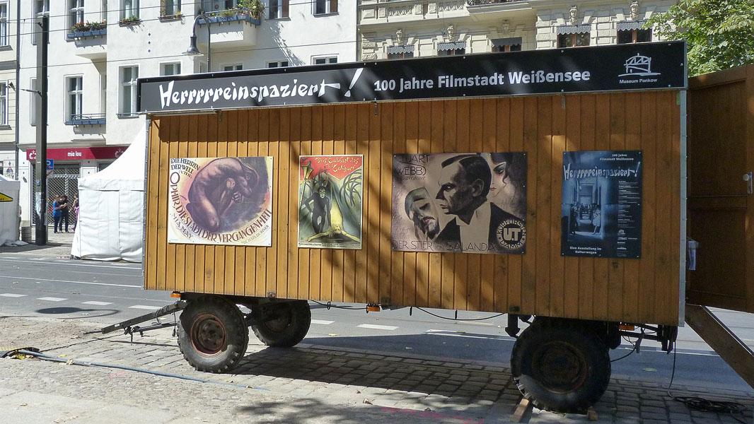 Herrrrreinspaziert Kultur:Wagen - Casting Carrée Festival 2013