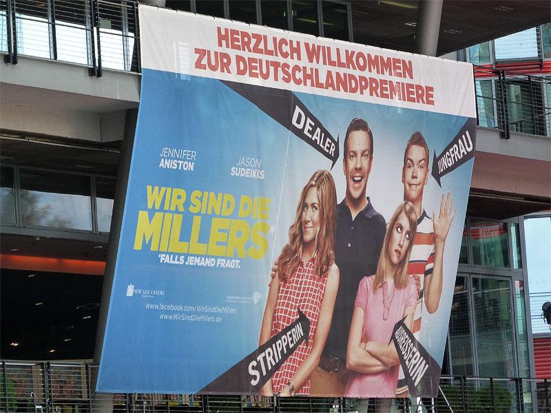 """""""Wir sind die Millers"""" Deutschlandpremiere in Berlin"""