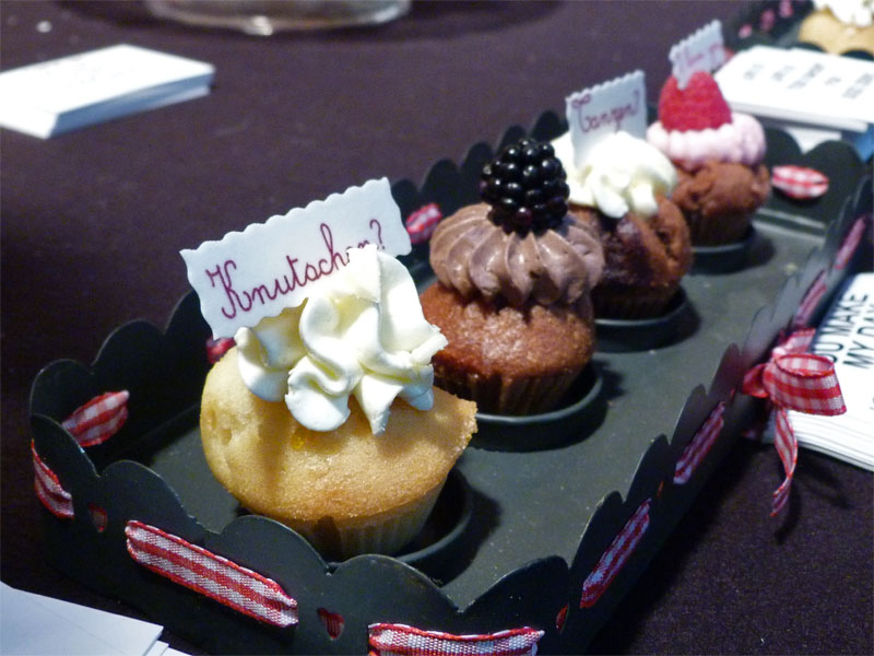 """Cupcake Cuisine"" - Mini-Cupcakes auf dem Naschmarkt Berlin"