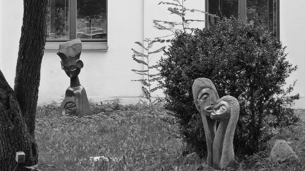 Kulturgarten K4 in Pankow - schwarz/weiß