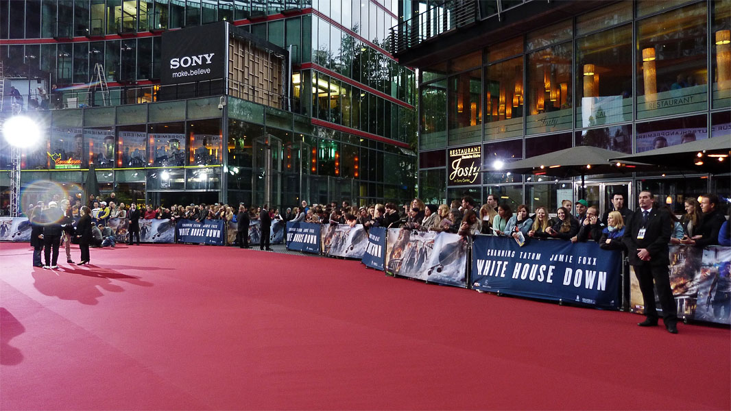 """White House Down"" - Roter Teppich in Berlin"