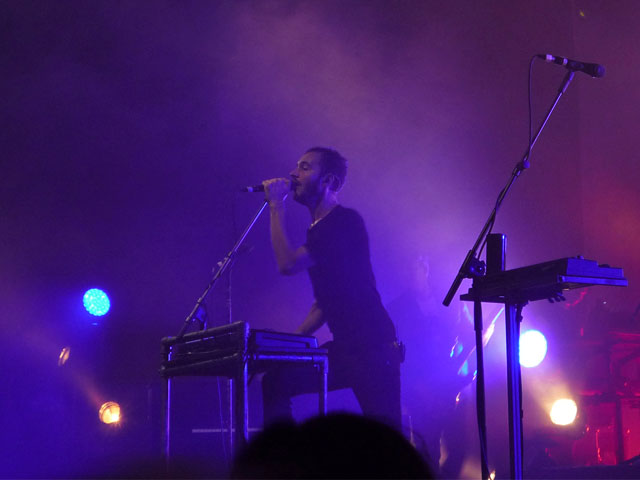 Editors-Konzert in der Columbiahalle Berlin