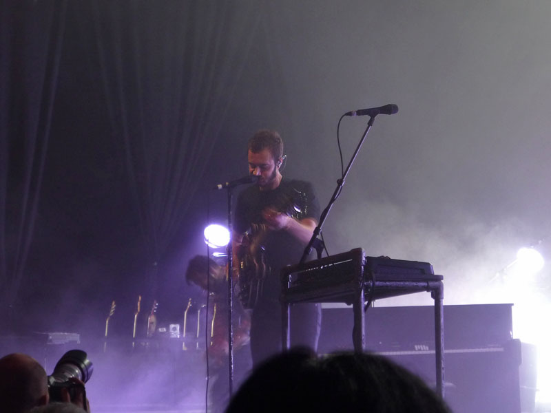 Editors-Sänger Tom Smith - Columbiahalle Berlin