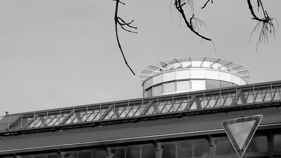 Schönhauser Allee Bahnhofsdach