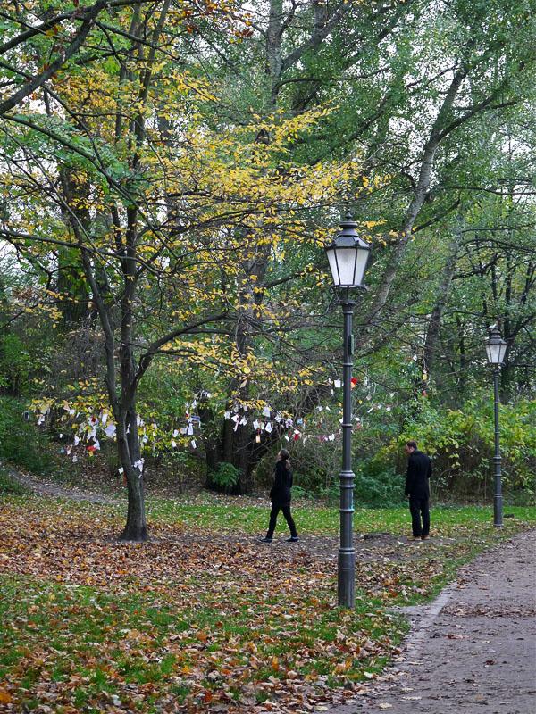 Wunschbaum im Volkspark Friedrichshain