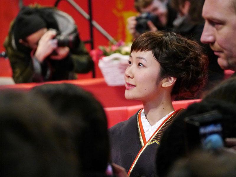 Haru Kuroki - Berlinale 2014