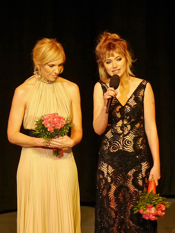 Imogen Poots & Toni Collette auf der Berlinale 2014