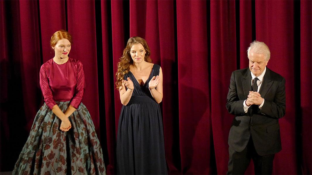 """Léa Seydoux, Yvonne Catterfeld & André Dussollier - """"La belle et la bête"""" Berlinale 2014"""