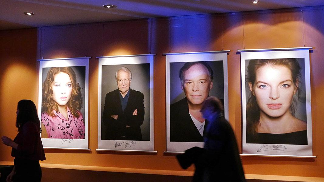"""""""La belle et la bête"""" - Portraits der Stars im Berlinale Palast"""