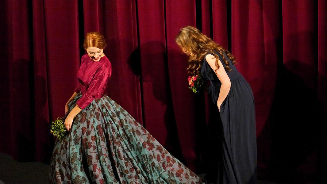 """Léa Seydoux & Yvonne Catterfeld - """"La belle et la bête"""" Berlinale 2014"""
