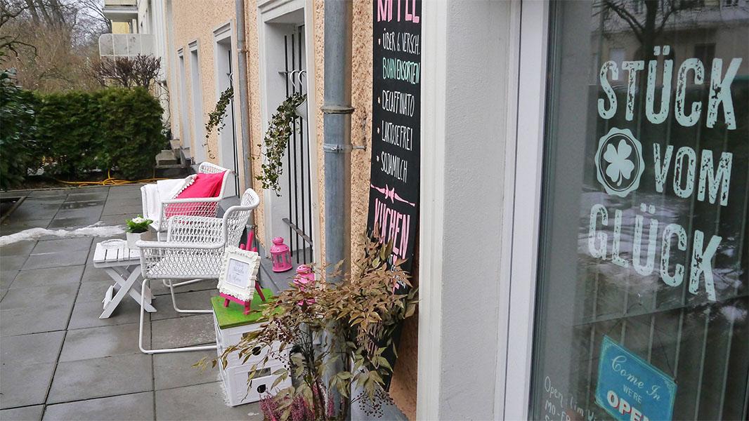 """""""Stück vom Glück"""" – noch ein gutes Café in Berlin Pankow"""