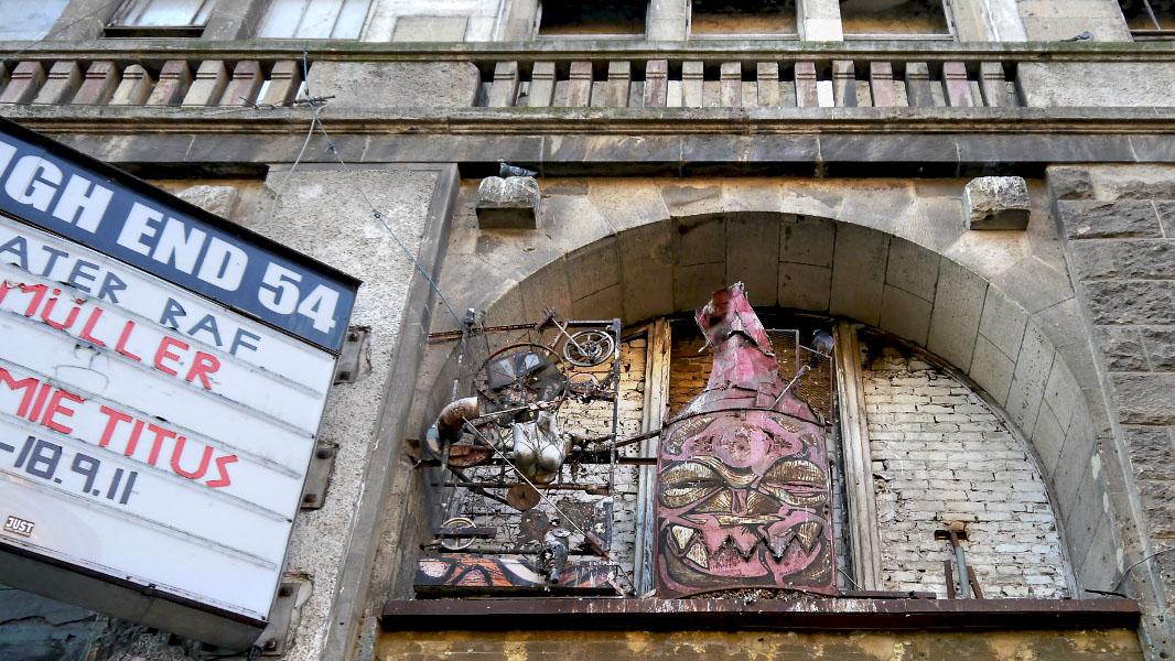 Kunsthaus Tacheles in der Oranienburger Straße