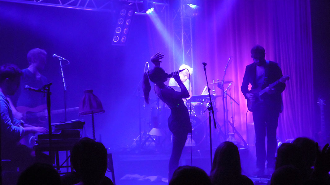 Chapeau Claque - Konzert im Lido März 2014