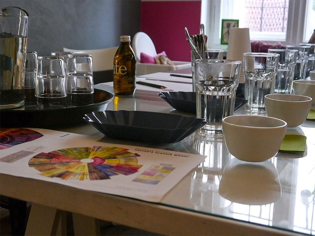 """Cupping - Kaffee-Verkostung im """"Stück vom Glück"""""""