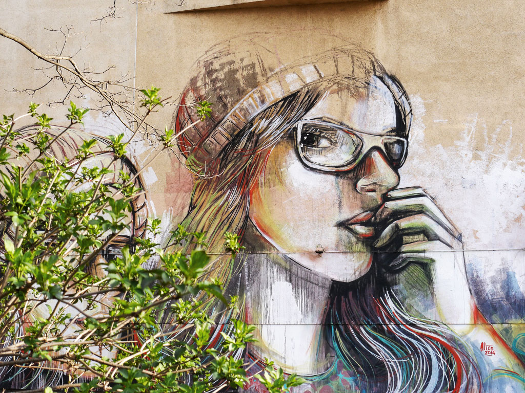 Graffiti - Alice Pasquini Berlin