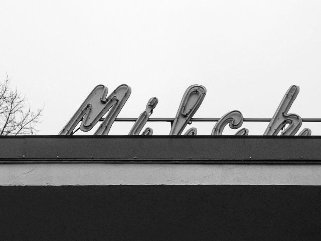 Milchhäuschen Berlin - schwarz/weiß