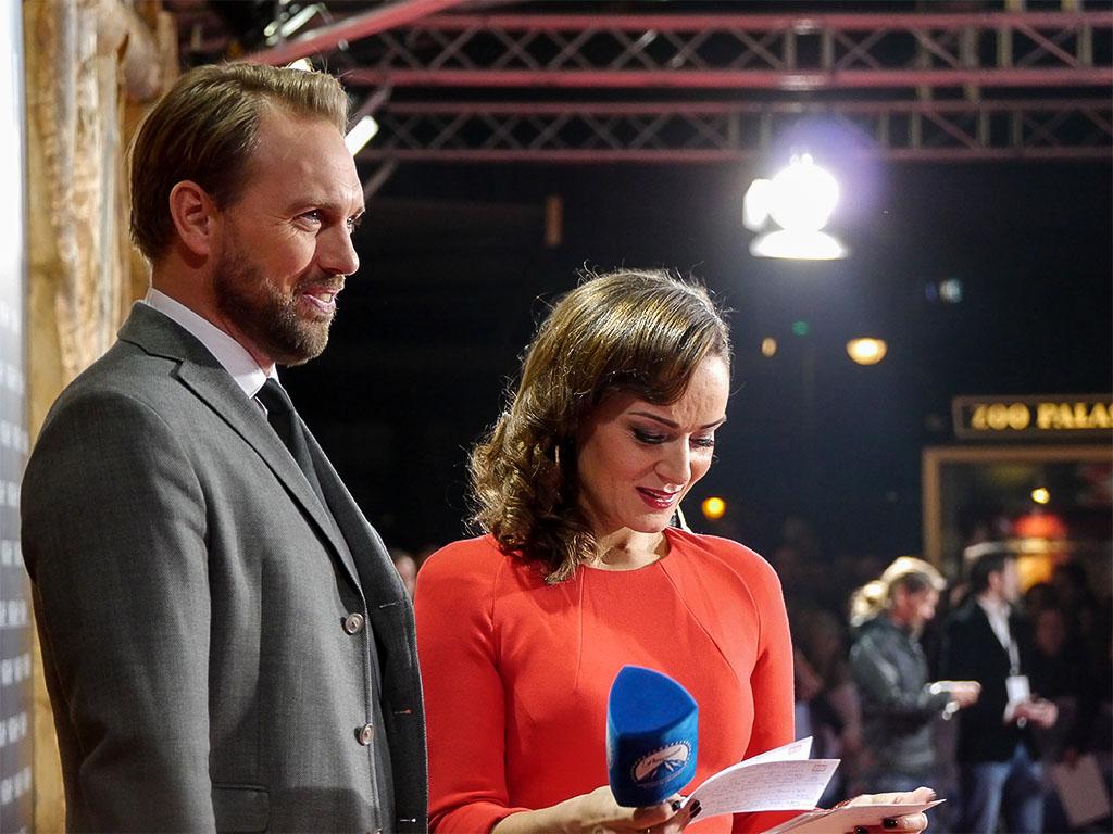 """Steven Gätjen & Oezlem Evans - """"NOAH"""" Filmpremiere in Berlin"""