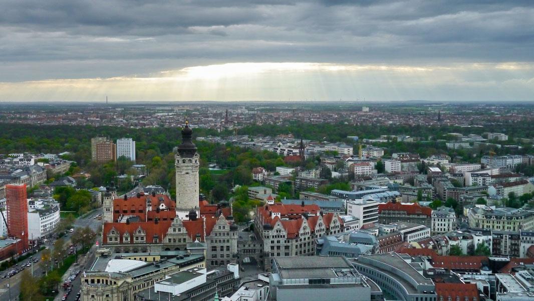 Panorama Tower Leipzig - Ausblick