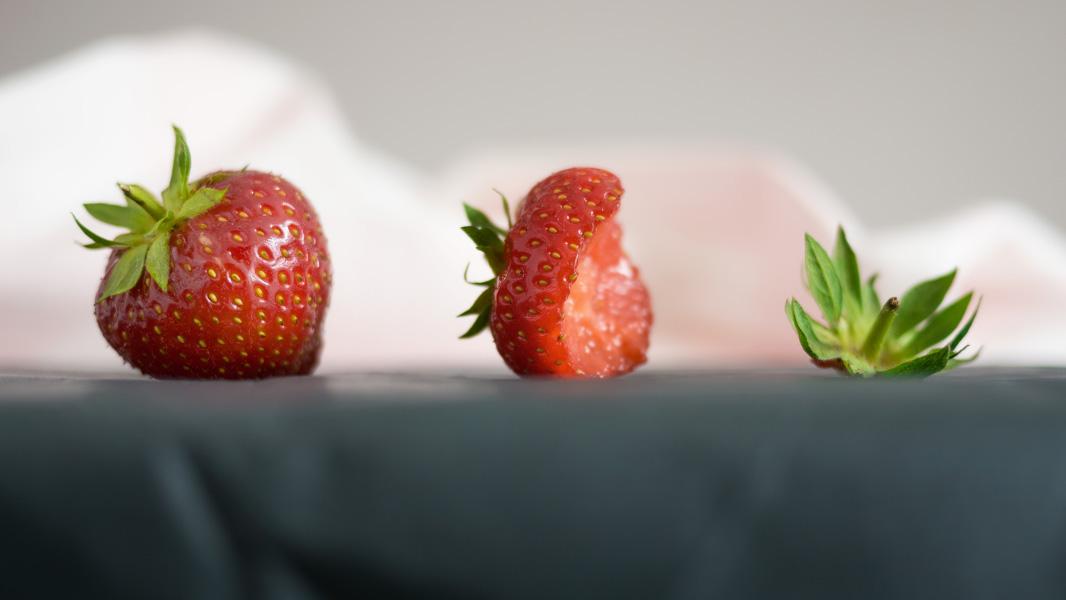 Umgekehrte Evolution - das Ende einer Erdbeere