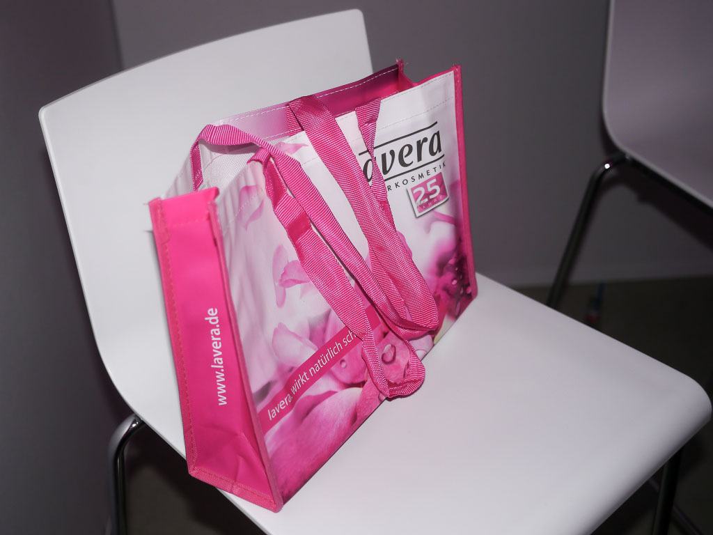 Goodie Bag - Lavera Showfloor - Fashion Week 2014