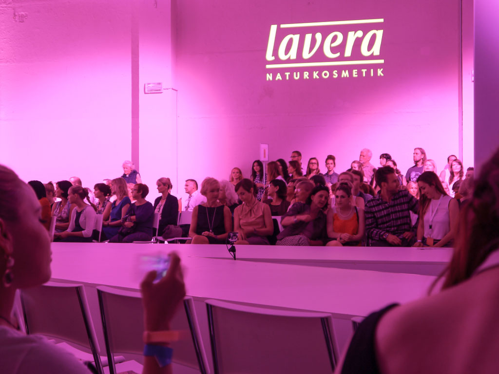 Lavera Showfloor 2014 - Publikum - Fashion Week