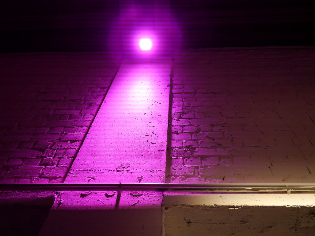 Lavera Showfloor 2014 - Beleuchtung im Umspannwerk