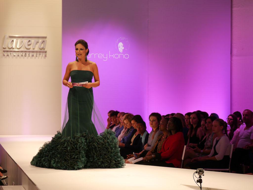 Nazan Eckes - Lavera Showfloor Juli 2014