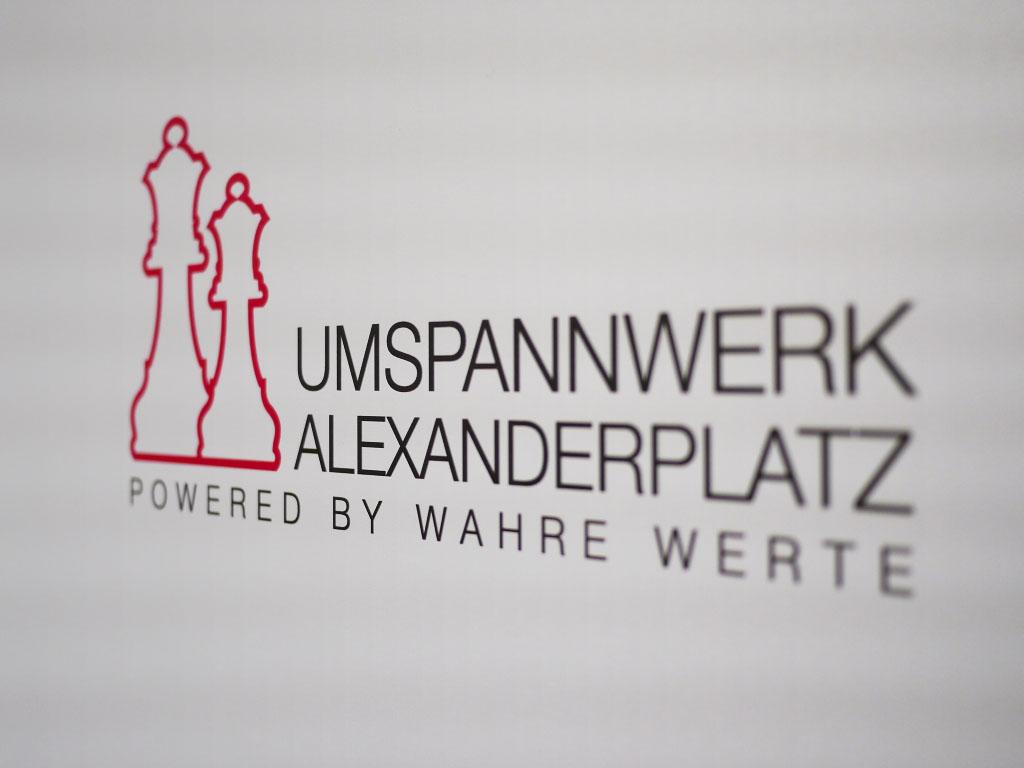 Umspannwerk Alexanderplatz Logo - Lavera Showfloor
