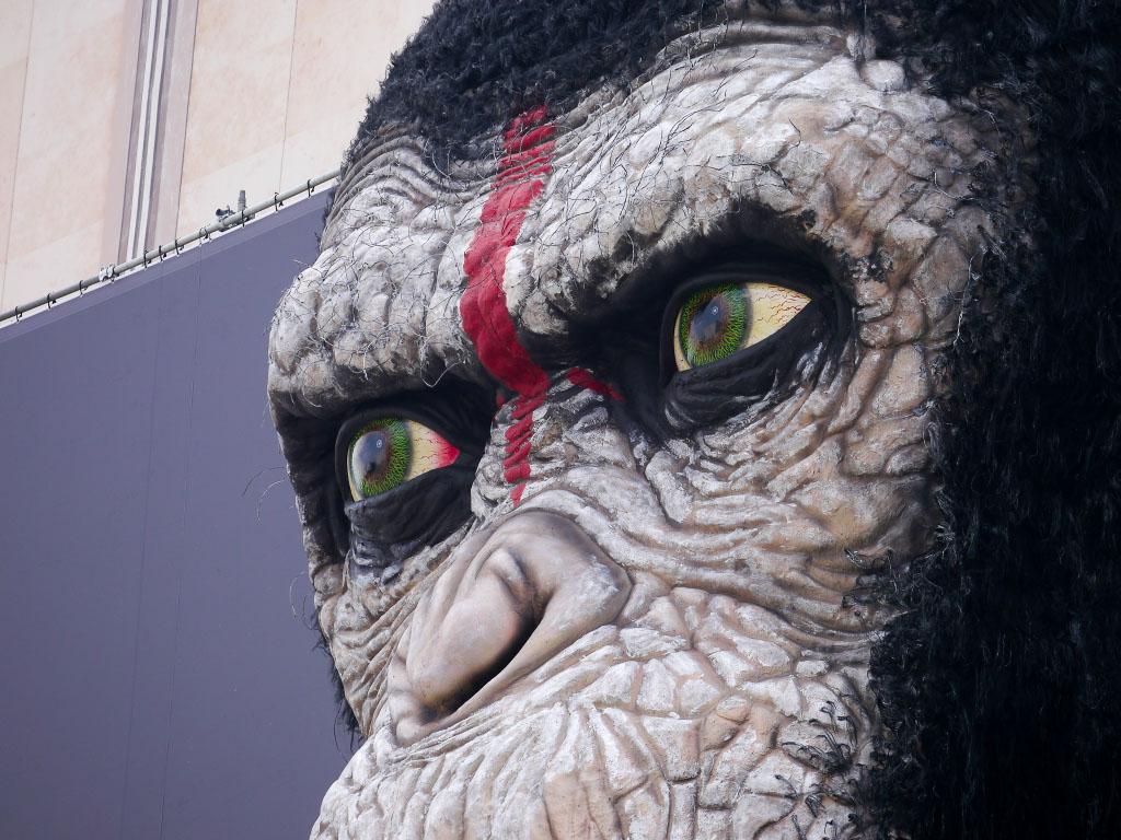 """Caesar von """"Planet der Affen - Revolution"""" Berlin"""