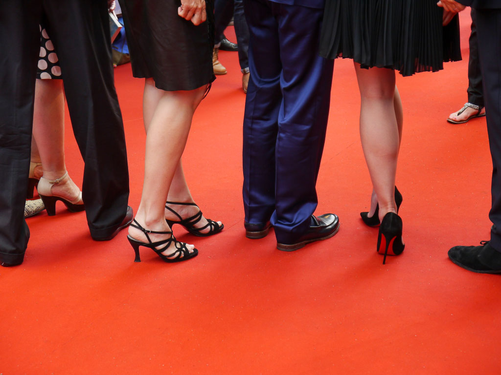 """""""Hectors Reise"""" Filmpremiere - die Beine der Stars"""