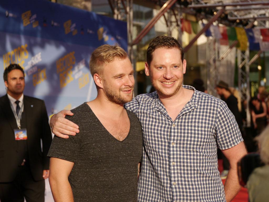 "Marco Kreuzpaintner & Paul Emmerich - Weltpremiere ""Hectors Reise"" Berlin"