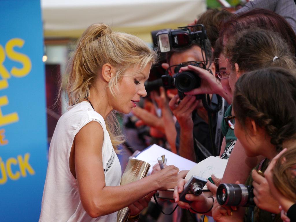 """Nina Gnädig - """"Hectors Reise"""" Filmpremiere in Berlin"""
