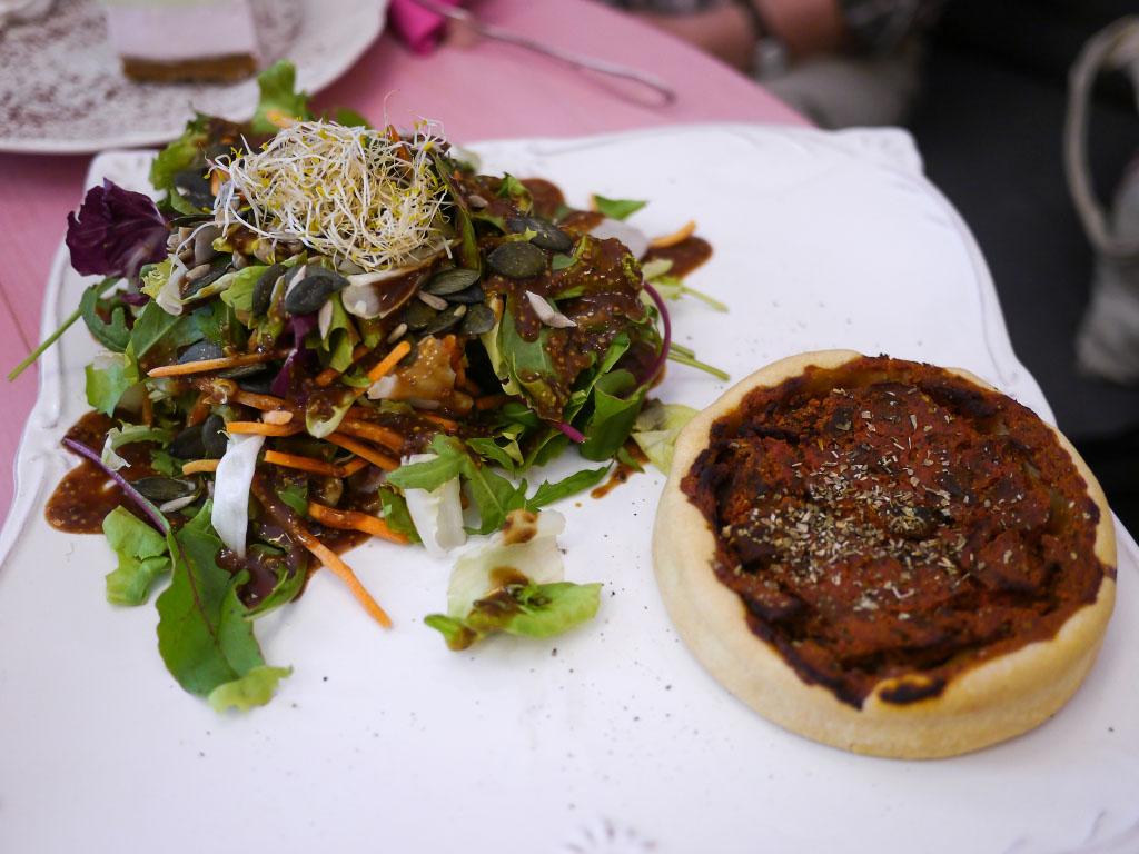 Ohlala Tartes - Quiche mit Salat