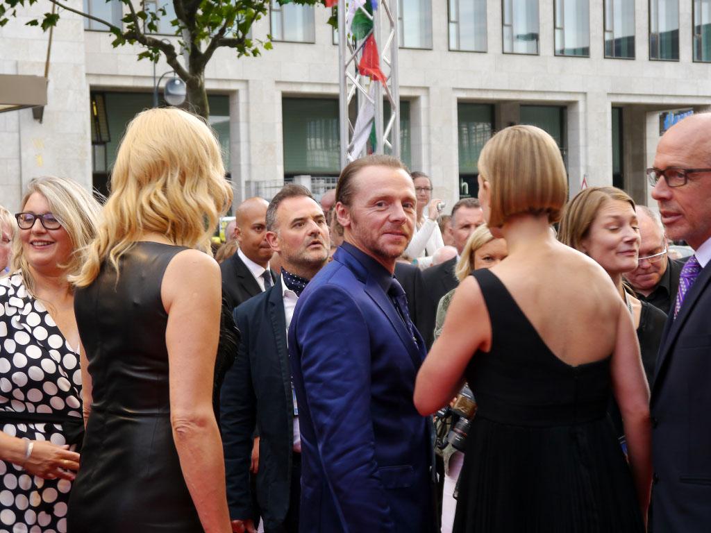 "Simon Pegg - Weltpremiere von ""Hectors Reise"" im Zoo Palast Berlin"