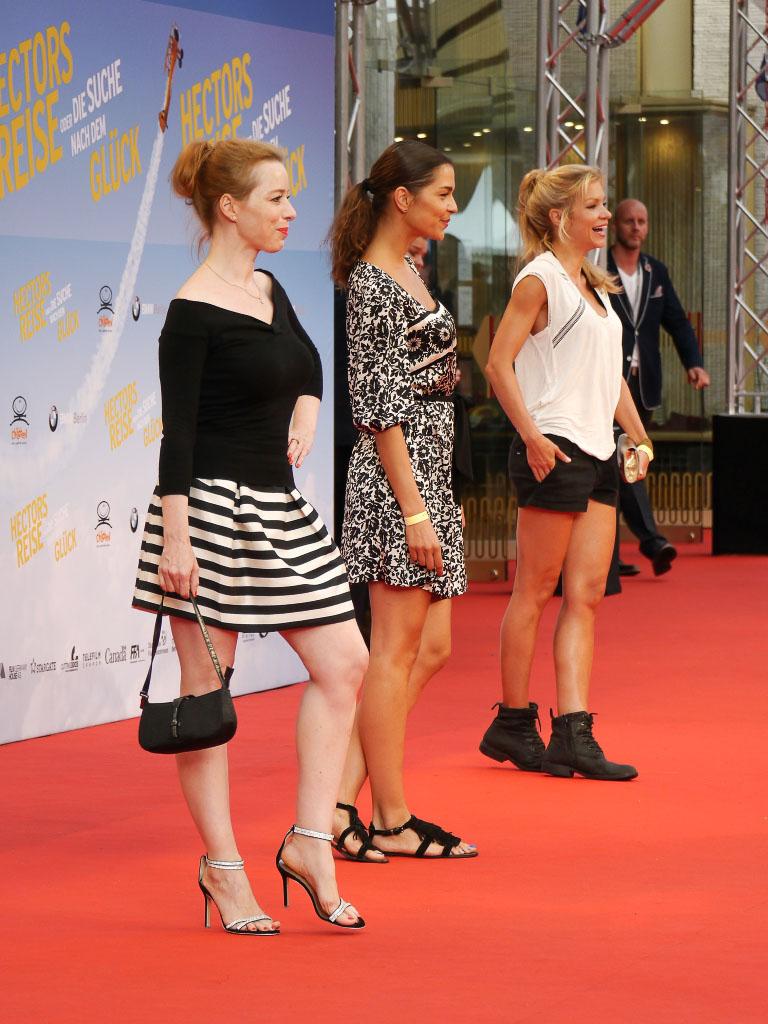 """Sonja Kerskes, Susan Hoecke & Nina Gnädig - Filmpremiere """"Hectors Reise"""" Berlin"""
